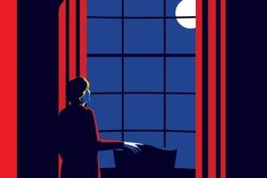 This is the cover the New Yorker magazine planned to run if Hillary Clinton won the US presidential election last year.