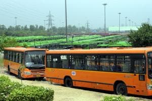 While GPS' have been working fine in cluster buses for over six years now, the same system was introduced in a staggered way in DTC buses by DIMTS.
