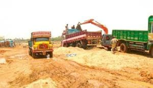 Like many other states, sand mining and trade in Bihar has been ruled largely by anti-social elements.