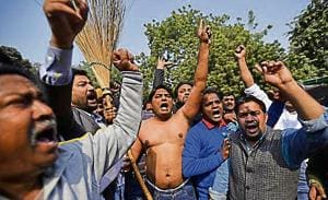 There are 16,000 permanent sanitation workers in east corporation and associated with various unions. These unions have gone on strike for five times in the past three years,