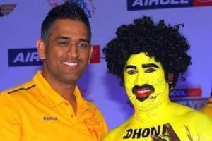 Saravanan Hari is an ardent fan of IPL team Chennai Super Kings and MS Dhoni.