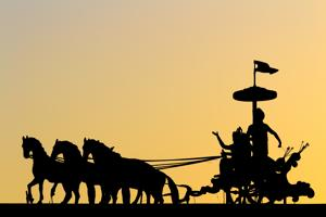 Be the charioteer: It is time for us to reclaim our personal connection with our faith.