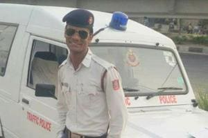 The constable,Binesh Kumar, died around 11.30 am at a private hospital in east Delhi.