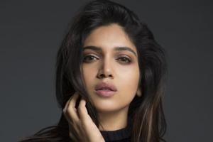 """Bhumi Pednekar says she is """"extremely happy and overwhelmed"""" with her Bollywood journey so far."""