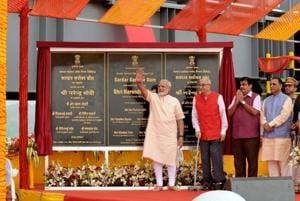 PMModi said no other project in the world had faced such hurdles as the Sardar Sarovar Dam on Narmada.