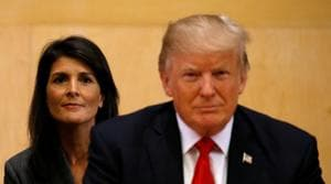 Trump reverses Haley on imposing sanctions on Russia