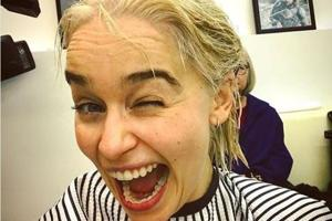 Emilia Clarke turns into Daenerys Targaryen in real life, dyes hair...