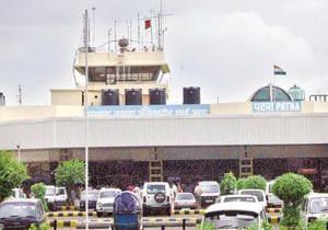 Jay Prakash Narayan International Airport in Patna.