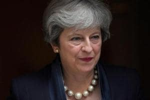 Taking back control? Britain's May to make high-stakes Brexit speech...