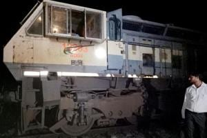 Two trains derail at same spot in UP within 10 hours