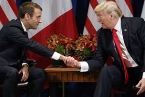 Macron convinced Trump will see US interests lie inside Paris climate...