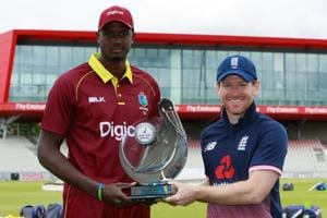 England vs West Indies: Wet outfield delays start of first one-day...