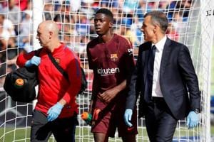 F.C. Barcelona lower Ousmane Dembele's recovery time after operation