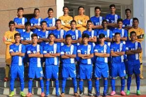 The Indian football team qualified for the FIFA U-17 World Cup as hosts.