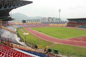 Guwahati's Indira Gandhi Athletic Stadium (Sarusajai stadium), a multipurpose venue with a race track surrounding the football turf used to seat about 35,000, but post renovation for the FIFAUnder-17World Cup, officials say, the capacity now is 28,500.