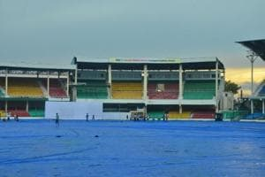 Rain washed out the second day's play between India Green and India Blue in the Duleep Trophy encounter in Kanpur.