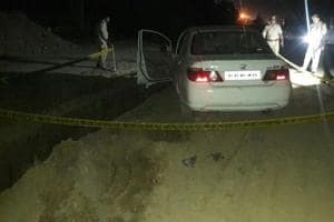 Midnight car robbery in Greater Noida ends in chase, cops kill one in...