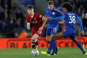 Liverpool knocked out of League Cup by Leicester City