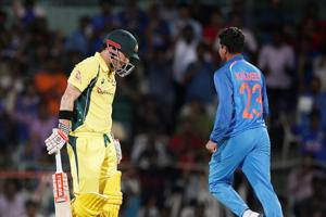 Kuldeep Yadav says David Warner under pressure when facing him