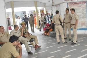 Ghaziabad: Modi Nagar cops were transferred on state govt order