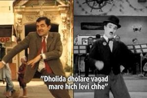 This Navratri, watch Charlie Chaplin and Mr Bean play garba to...