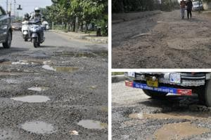 HT Impact: Need road repairs in Panchkula on war footing, MLA tells...