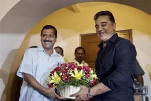 Focus on fighting corruption, says Kamal Haasan after meeting Kejriwal