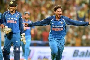 How MS Dhoni helped Kuldeep Yadav get maiden ODI hat-trick