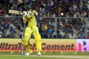India vs Australia: Steve Smith's half-century puts visitors in good...