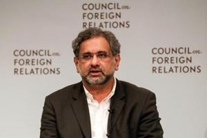 Pakistan PM Shahid Khaqan Abbasi sees zero role for India in...
