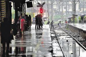 Mumbai rain: CR and WR operate fewer local trains with speed...