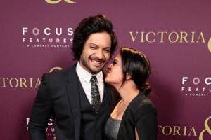 Richa Chadha joins beau Ali Fazal in Los Angeles for his film's...