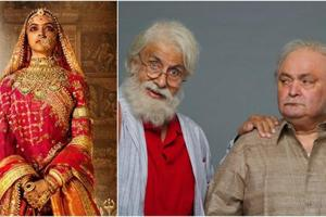 Deepika Padukone's Padmavati to challenge Amitabh Bachchan's 102 Not...