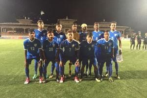 SAFF U-18 Championship: India thrash Bhutan, third in point table