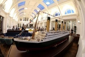 Building where Titanic was born restored into a luxury hotel in...