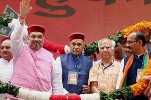 CM Virbhadra known for corruption, BJP CMs known for development: Amit...