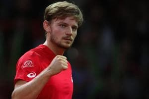 David Goffin powers through, Lucas Pouille bundled out in Metz tennis