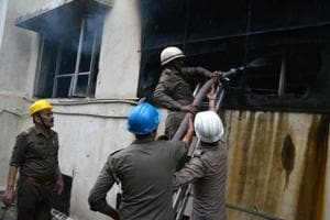 Fire at Idea factory in Noida's Sector 63, none injured