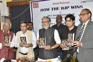 BJP reinvented under Narendra Modi, says Sushil Modi; releases book on...