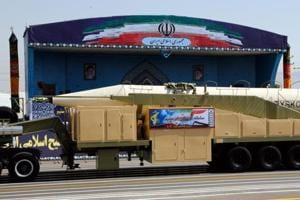 Iran unveils a 2000 km range ballistic missile, Rouhani says will...
