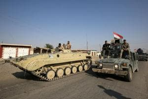 Iraqi Shia paramilitary troops join Hawija battle against Islamic...