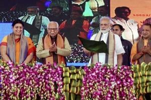 PM Modi flags off Mahamana Express, says development solution to all...
