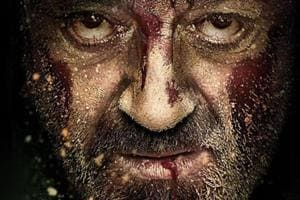 Sanjay Dutt plays a humble shoemaker and a single parent in Bhoomi.