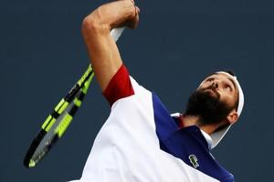 Benoit Paire saves match point to see off David Goffin at Moselle Open...
