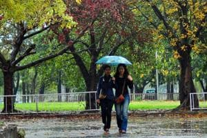 Rain ushers in a pleasant  weekend in Chandigarh