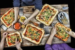 Do you associate pizzas with parties? Your weight may determine how...