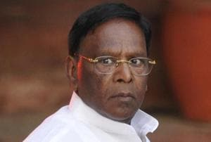 Govt mulling defamation suit against Bedi: Puducherry CM Narayanasamy