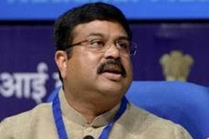 Petrol prices have started falling, says Dharmendra Pradhan
