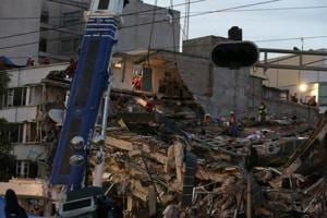 Problems pile up for unlucky village near epicentre of Mexican quake
