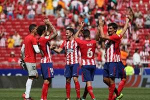 Atletico Madrid go second in La Liga as returning Diego Costa watches...